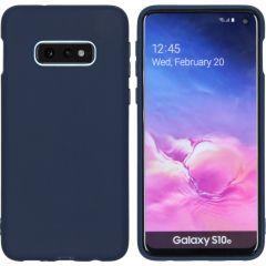 iMoshion Coque Color Samsung Galaxy S10e - Bleu foncé