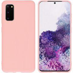 iMoshion Coque Color Samsung Galaxy S20 - Rose