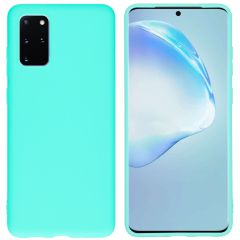 iMoshion Coque Color Samsung Galaxy S20 Plus - Turquoise