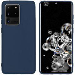 iMoshion Coque Color Samsung Galaxy S20 Ultra - Bleu foncé