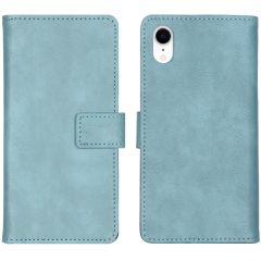 iMoshion Étui de téléphone portefeuille Luxe iPhone Xr - Bleu clair