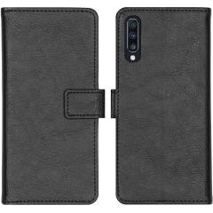 iMoshion Étui de téléphone portefeuille Luxe Galaxy A70 - Noir
