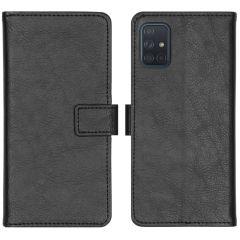 iMoshion Étui de téléphone portefeuille Luxe Galaxy A71 - Noir