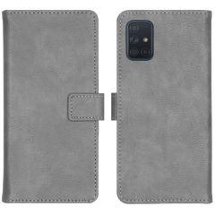 iMoshion Étui de téléphone portefeuille Luxe Galaxy A71 - Gris