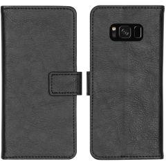 iMoshion Étui de téléphone portefeuille Luxe Galaxy S8 - Noir