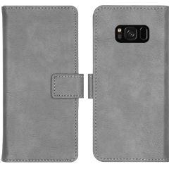 iMoshion Étui de téléphone portefeuille Luxe Galaxy S8 - Gris