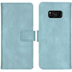 iMoshion Étui de téléphone portefeuille Luxe Galaxy S8 - Bleu clair