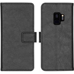 iMoshion Étui de téléphone portefeuille Luxe Galaxy S9 - Noir