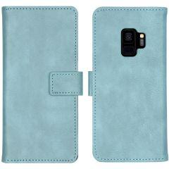 iMoshion Étui de téléphone portefeuille Luxe Galaxy S9 - Bleu clair