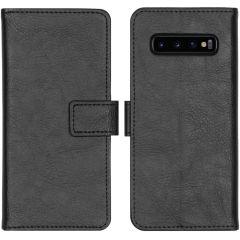 iMoshion Étui de téléphone portefeuille Luxe Galaxy S10 - Noir