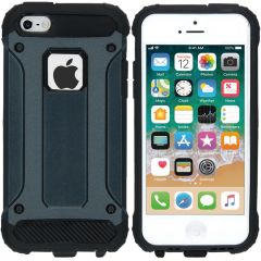 iMoshion Coque Rugged Xtreme iPhone SE / 5 / 5s - Bleu foncé