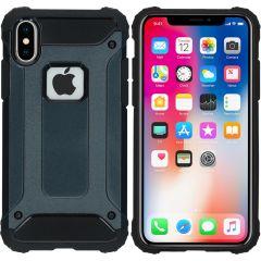 iMoshion Coque Rugged Xtreme iPhone X - Bleu foncé