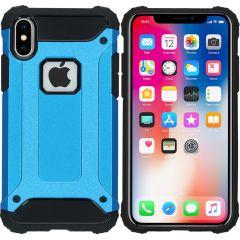 iMoshion Coque Rugged Xtreme iPhone X - Bleu clair
