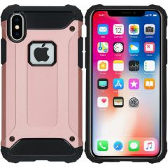iMoshion Coque Rugged Xtreme iPhone X - Rose Champagne