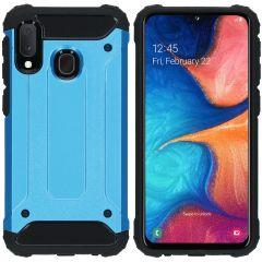 iMoshion Coque Rugged Xtreme Samsung Galaxy A20e - Bleu clair