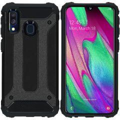iMoshion Coque Rugged Xtreme Samsung Galaxy A40 - Noir