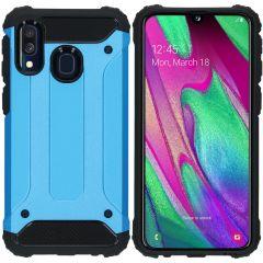 iMoshion Coque Rugged Xtreme Samsung Galaxy A40 - Bleu clair