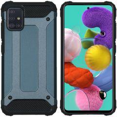 iMoshion Coque Rugged Xtreme Samsung Galaxy A51 - Bleu foncé