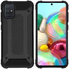 iMoshion Coque Rugged Xtreme Samsung Galaxy A71 - Noir