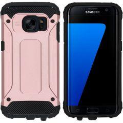 iMoshion Coque Rugged Xtreme Samsung Galaxy S7 - Rose Champagne