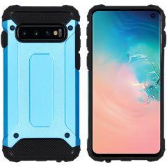 iMoshion Coque Rugged Xtreme Samsung Galaxy S10 - Bleu clair