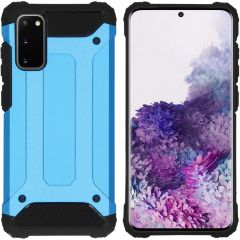 iMoshion Coque Rugged Xtreme Samsung Galaxy S20 - Bleu clair