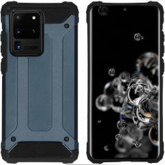 iMoshion Coque Rugged Xtreme Samsung Galaxy S20 Ultra - Bleu foncé