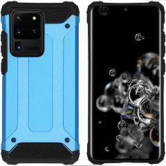 iMoshion Coque Rugged Xtreme Samsung Galaxy S20 Ultra - Bleu clair