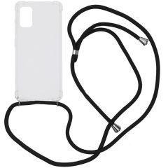 iMoshion Coque avec cordon Samsung Galaxy A41 - Noir