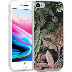iMoshion Coque Design iPhone SE (2020) / 8 / 7 / 6s - Jungle - Vert