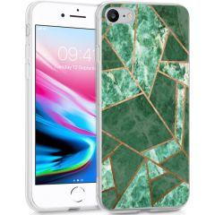 iMoshion Coque Design iPhone SE (2020) / 8 / 7 / 6s - Cuive graphique
