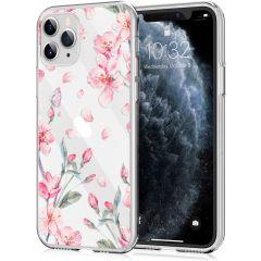 iMoshion Coque Design iPhone 11 Pro - Fleur - Rose