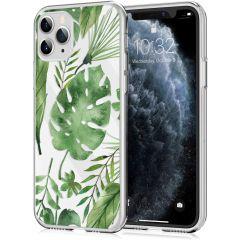 iMoshion Coque Design iPhone 11 Pro - Feuilles - Vert