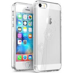 iMoshion Coque Design iPhone 5 / 5s / SE - Pissenlit - Blanc