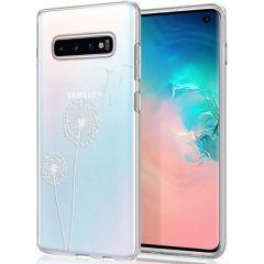 iMoshion Coque Design Samsung Galaxy S10 - Pissenlit - Blanc