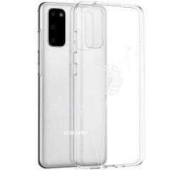 iMoshion Coque Design Samsung Galaxy S20 - Pissenlit - Blanc