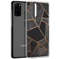 iMoshion Coque Design Galaxy S20 Plus - Cuive graphique - Noir