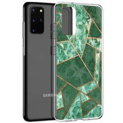 iMoshion Coque Design Galaxy S20 Plus - Cuive graphique - Vert