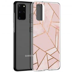 iMoshion Coque Design Galaxy S20 Plus - Cuive graphique - Rose