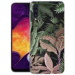iMoshion Coque Design Galaxy A50 / A30s - Jungle - Vert / Rose