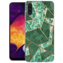 iMoshion Coque Design Galaxy A50 / A30s - Cuive graphique - Vert
