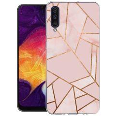 iMoshion Coque Design Galaxy A50 / A30s - Cuive graphique - Rose