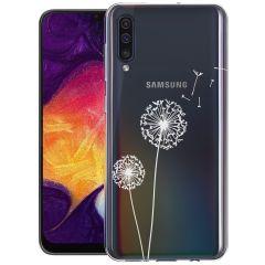 iMoshion Coque Design Samsung Galaxy A50 / A30s - Pissenlit - Blanc
