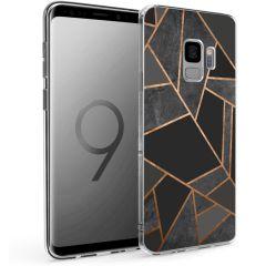 iMoshion Coque Design Galaxy S9 - Cuive graphique - Noir / Dorée