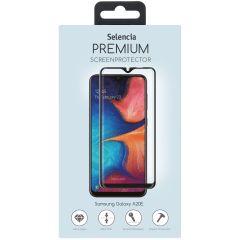 Selencia Protection d'écran premium en verre durci Galaxy A20e