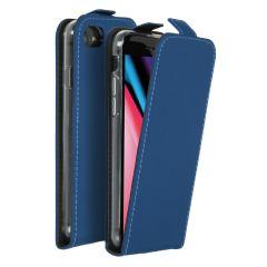 Accezz Étui à rabat iPhone SE (2020) / 8 / 7 - Bleu