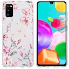 iMoshion Coque Design Samsung Galaxy A41 - Fleur - Rose
