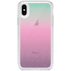 OtterBox Coque Glitter Symmetry iPhone Xs / X - Iridescent