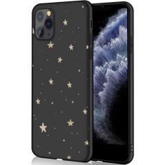 iMoshion Coque Design iPhone 11 Pro - Etoiles - Noir