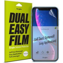 Ringke Duo pack de protections d'écran anti-poussière iPhone 11 /Xr